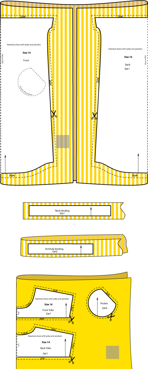 Pattern layout