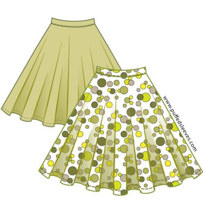 Download a fuul circle skirt pattern