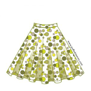 Circle skirt pattern download