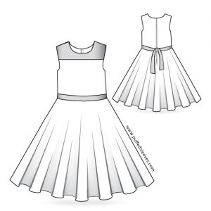printable dress pattern