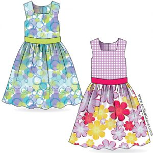 printable dress pattern for girl