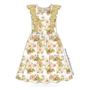 Pattern for girl dress