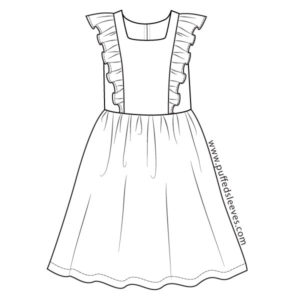 Frilly Top Dress pattern