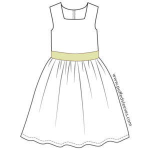 Dress-with-a-sash