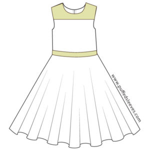 Dress with a Circle Skirt
