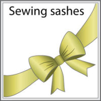 Sewing sashes tutorial