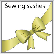 Sewing-sashes